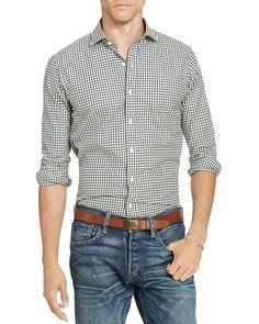 Polo Ralph Lauren Estate Gingham Classic Fit Button Down Shirt