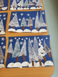 Looking for winter crafts for kids? Try these painted doily trees to make a beautiful winter scene. Looking for winter crafts for kids? Try these painted doily trees to make a beautiful winter scene. Winter Art Projects, Winter Crafts For Kids, Art For Kids, Preschool Christmas, Christmas Art, Preschool Winter, Simple Christmas, Winter Trees, Winter Fun