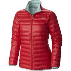 0946220f08 Columbia Womens Flash Forward Down Jackets Red Camellia Spray a22127185633