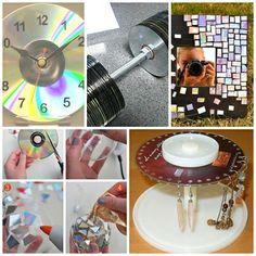 Recycling CDs-Amazing Ideas