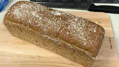 OL-brød: Grovbrød med spelt og rug Rye Bread, Omelette, Allrecipes, Crackers, Sandwiches, Berries, Rolls, Food And Drink, Gluten