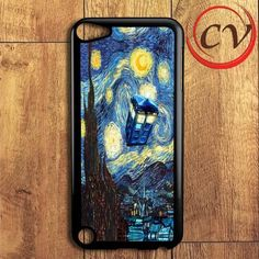 Tardis Starry Night iPod 5 Case