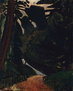 Max Weber, Path in the Woods 1907