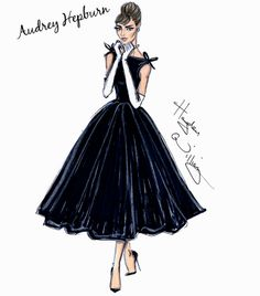 by Hayden Williams Happy Birthday Audrey Hepburn! by Hayden WilliamsHappy Birthday Audrey Hepburn! by Hayden Williams Fashion Art, New Fashion, Trendy Fashion, Fashion Show, Vintage Fashion, Fashion Outfits, Paper Fashion, Style Fashion, Fashion Ideas