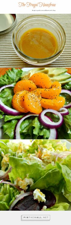 Honey Citrus Vinaigrette & Salad Options . So easy & so good you'll want to DRINK it!!! Try it on Red Onion Avocado & Orange Salad for Cinco de Mayo. It is so perfect with my Beet Goes on Salad! Seriously, it will become your favorite Spring, Summer Dressing.