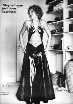 Celestia Sporborg in Stirling Cooper by frank horvat vanity fair 1971 via emmapeelpants
