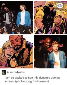 Luke Cage, Power Man, Danny Rand, Iron Fist, marvel, mcu, avengers, the defenders