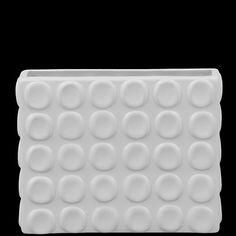 Urban Trends White Ceramic Vase II in Matte - 20303 / 20304