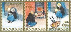 the little match girl stamps Denmark
