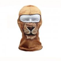 Lion Pattern Ski Face Mask Motorcycle Bicycle Football Outdoor Sport
