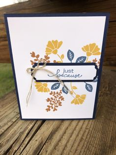 Misty Cinnamon Bumblebee by djahner - FS714 at Splitcoaststampers Candy Wrappers, Quick Cards, Card Making Inspiration, Petunias, Stamping, Cinnamon, Paper Crafts, Challenge, Canela