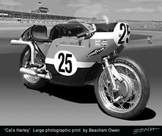 Cal Rayborn with his flathead Harley Davidson qualified 8th but beat the new Japanese 2 strokes to win the Daytona 200 in 1968 and 1969