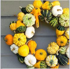 Fall door decor!