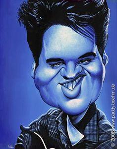 Elvis Presley in Blue...