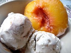 Firsts, Lasts, and Baked Peaches - For The Love of Food