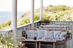 Bambumöblerna från Tine K på Helenekilde Badehotel