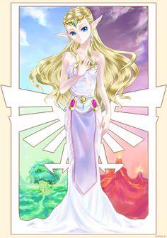 ZELDA by Arashi-H on deviantART