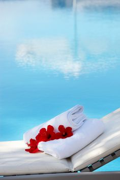 Pool Side relaxation and perhaps time for a few spa treats - after a dip in the pool of course! Aqua, Wellness Spa, Tropical Paradise, Summer Paradise, Love Is Sweet, Spa Day, Hotels And Resorts, No Time For Me, Summer Time