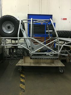 Side view of the seat in the chassis