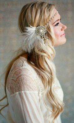 Top 16 Bohemian Girl Wedding Hair Designs – Pretty Famous Fashion Blog Style - DIY Craft (3)