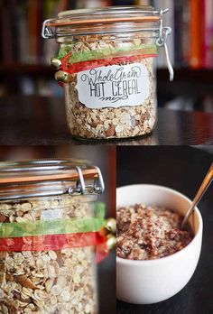 Whole-Grain Hot Cereal Mix | 24 Delicious Food Gifts That Will Make Everyone Love You