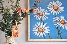 flowers against flowers