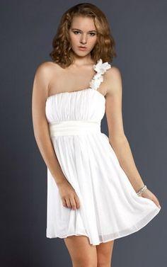 Vestidos cortos de fiesta para cóctel u ocasiones semi-formales o informales.