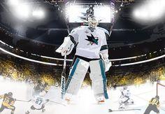 Martin Jones #31 of the San Jose Sharks during the Stanley cup finals - #martinjones #goalie #sanjosesharks #nhl #sanjose #sharks #illustration #stanleycup #stanleycupfinals #pittsburg #icehockey #pittsburgpenguins #hockey #hockeylife #drawing #digitalpainting