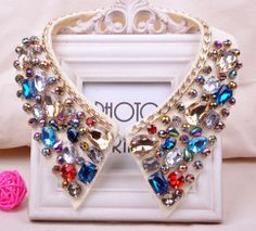 COLORFUL NECKLACE .  // TO SEE MORE: VISIT US ON http://pinkpinkglamour.weebly.com  AND PLEASE FOLLOW US:  https://www.facebook.com/pinkpinkglamour  https://twitter.com/Pinkpinkglamour
