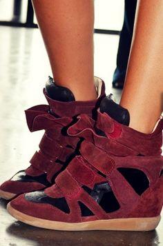Oficina Chic: Tendência Chic: Isabel Marant Sneakers