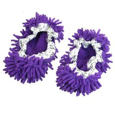 Pair House Floor Polishing Dusting Cleaning Foot Socks Shoes Mop Slippers Purple Amico http://www.amazon.com/dp/B00CFJE68Q/ref=cm_sw_r_pi_dp_9ui1ub0WAWCHZ
