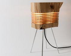 Sculpture sur bois Sculpture bois minimaliste Fine par SplitGrain