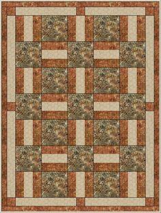 Resplendent Sew A Block Quilt Ideas. Magnificent Sew A Block Quilt Ideas. Patchwork Quilt Patterns, Beginner Quilt Patterns, Bargello Patterns, Patchwork Designs, Quilting Patterns, Lap Quilts, Panel Quilts, Camo Quilt, Rail Fence Quilt
