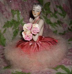 Powder Puff Pin Cushion doll