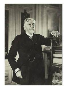 Giclee Print: Portrait de Gustave Eiffel Art Print : 24x18in