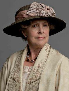 Penelope Wilton in Downton Abbey