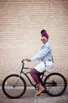 Bike Fancy: Back Posting! Jazmin, N Green St & W Lake St, Chic...