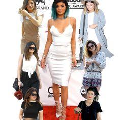 O estilo sensual de Kylie Jenner é o posto de sua irmã Kendall.