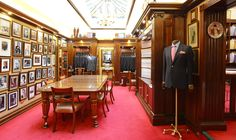 Turnbull and Asser, Bury Street #TurnbullandAsser #BuryStreet #Menswear #Tailoring