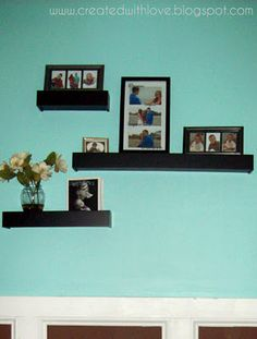 Floating Shelves To Dress A Naked Wall