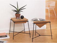 side table cork basil - PETITE FRITURE - Editeur de Design
