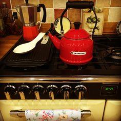Le Creuset!  New kettle ❤️