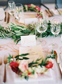 Photography: Tec Petaja - www.tecpetaja.com   Read More on SMP: http://www.stylemepretty.com/2015/05/04/nchampagne-flower-crown-bridal-luncheon/