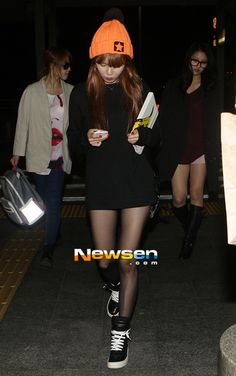 Hyuna (singer) from 4MINUTE