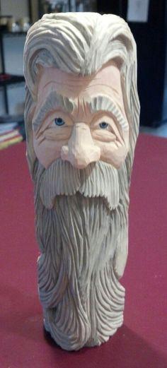 Gandalf - carved by Steve Coughlan