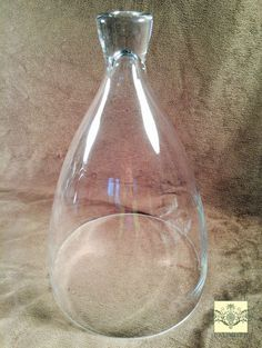 Glass Dome - Large Bell Jar Cloche - 11 1/2