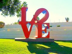 Guide to Old Town Scottsdale: Scottsdale Civic Mall (Plaza), has a love sign, great for photos! Couple of good restaurants on the plaza too: AZ88, great food, patio & cocktails.  As well as Orange Table (great breakfast & lunch, sometimes iffy service). #scottsdale #arizona