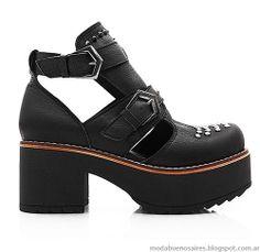 Botas, zapatos y borcegos otoño invierno 2014 Blaque. BBAA