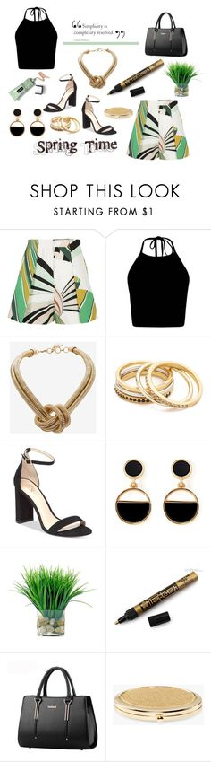 """Eternal Youth"" by jakenpink ❤ liked on Polyvore featuring Emilio Pucci, BCBGMAXAZRIA, Madewell, Vince Camuto, Warehouse and Chico's"
