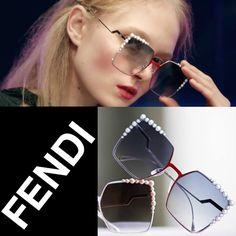 Conhece o novo Fendi Can Eye? Temos ele disponível nessa cor da foto! Que tal vir experimentar em nossas lojas?!  #oticaswanny #fendi #fendicaneye #lançamento